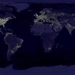 地球的灯光